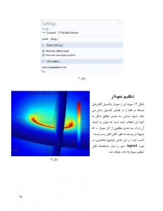 راهنمای خودآموز نرم افزار COMSOL Multiphysics