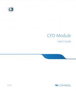 آموزش کامسول - زبان اصلی – راهنمای دینامیک سیالات CFD