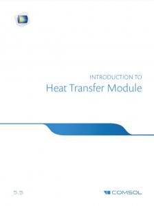آموزش کامسول - زبان اصلی – مقدمه انتقال حرارت Heat Transfer
