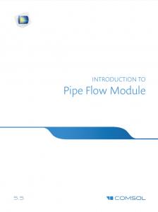 آموزش کامسول - زبان اصلی – مقدمه جریان در لوله Pipe Flow