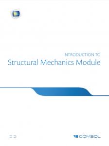 آموزش کامسول - زبان اصلی – مقدمه راهنمای سازه های مکانیکی Structural Mechanics