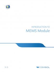 آموزش کامسول - زبان اصلی – مقدمه سامانه میکرو الکترومکانیکی MEMS