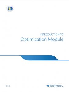 آموزش کامسول - زبان اصلی – مقدمه ماژول بهینه سازی Optimization Module