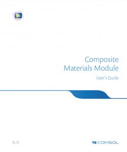 آموزش کامسول - زبان اصلی – مواد کامپوزیتی Composite Materials