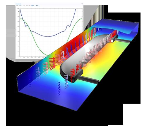 لایه نشانی و آبکاری Electrodeposition آموزش کامسول comsol