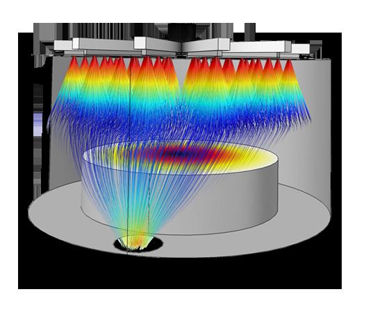 ردیابی ذرات Particle Tracing Module کامسول comsol